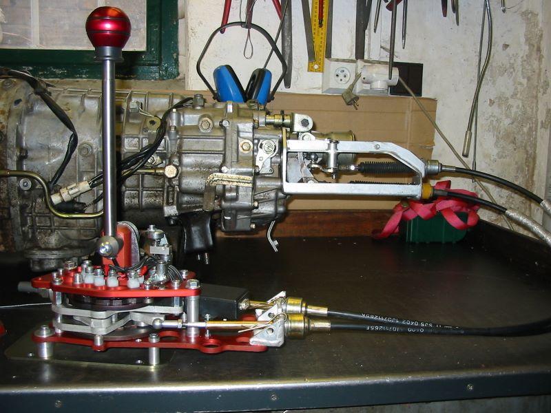 Porsche Carrera S >> Sekvenční mechanismy řazení – KNOB ENGINES